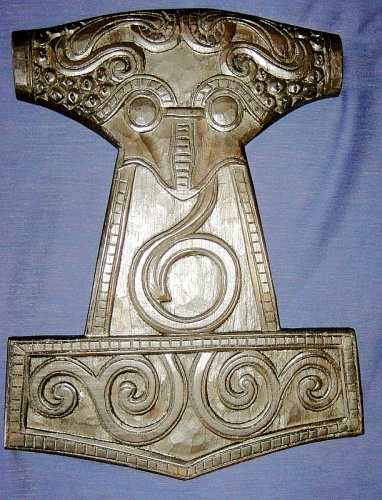 Wandrelief Thors Hammer