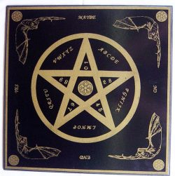 Witchboard Pentagramm klein