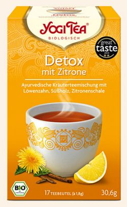 Detox mit Zitrone