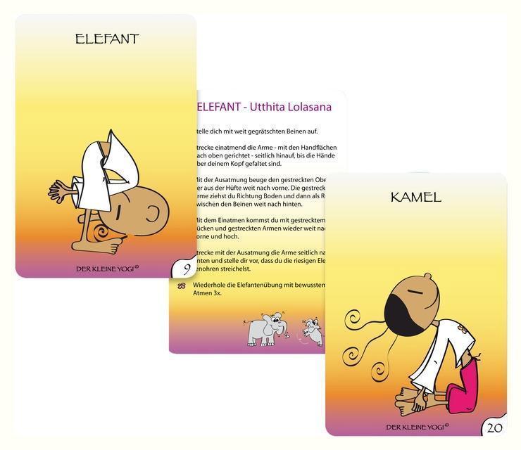 Yoga-Karten Yoga mit dem kleinen Yogi 1