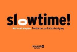 Slowtime! Postkarten