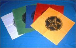 Pentagramm  45 x 45 cm