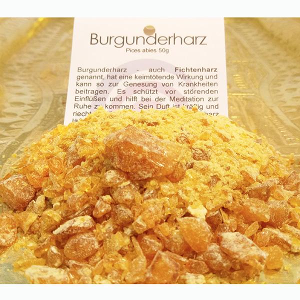 Burgunderharz