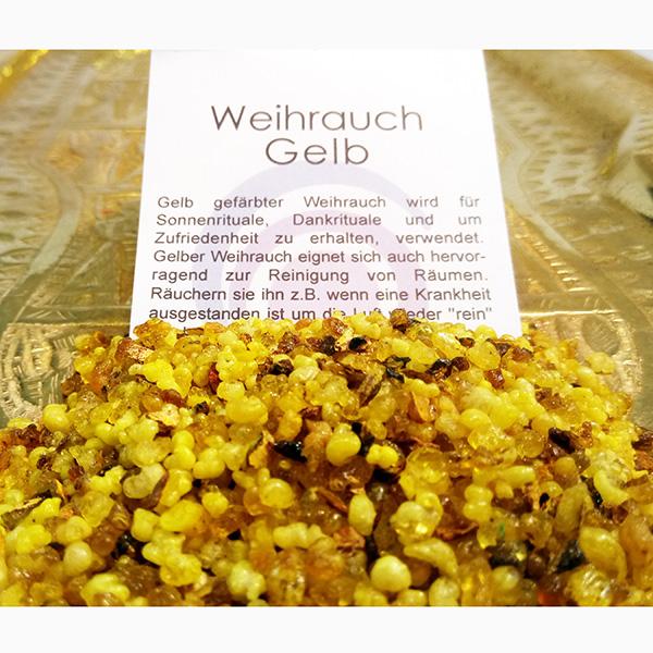 Weihrauch gelb
