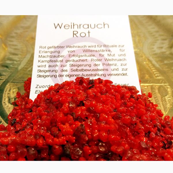 Weihrauch rot